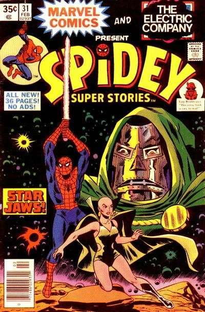 Spidey Super Stories #31 Comic Books - Covers, Scans, Photos  in Spidey Super Stories Comic Books - Covers, Scans, Gallery