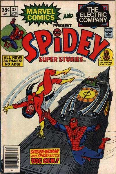 Spidey Super Stories #32 Comic Books - Covers, Scans, Photos  in Spidey Super Stories Comic Books - Covers, Scans, Gallery