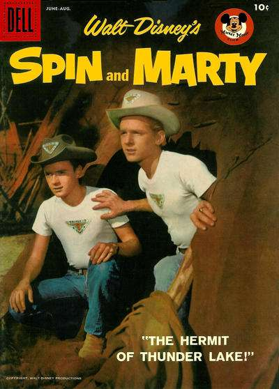 Spin & Marty #6 Comic Books - Covers, Scans, Photos  in Spin & Marty Comic Books - Covers, Scans, Gallery