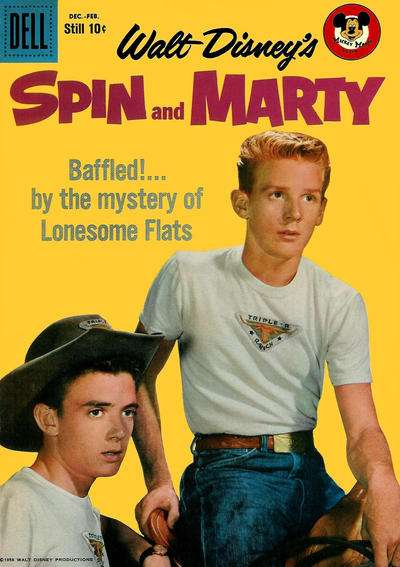 Spin & Marty #8 comic books - cover scans photos Spin & Marty #8 comic books - covers, picture gallery
