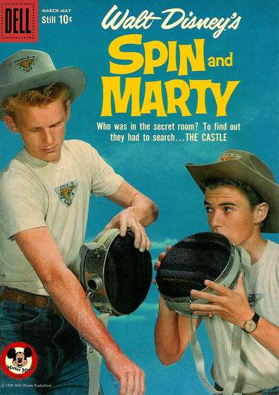 Spin & Marty #9 Comic Books - Covers, Scans, Photos  in Spin & Marty Comic Books - Covers, Scans, Gallery