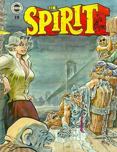 Spirit #19 Comic Books - Covers, Scans, Photos  in Spirit Comic Books - Covers, Scans, Gallery