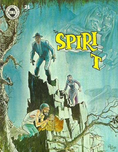 Spirit #21 comic books for sale