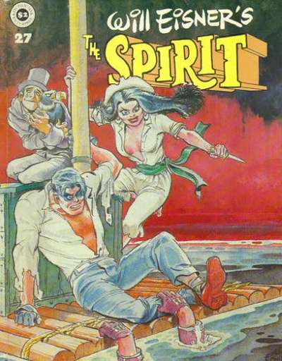 Spirit #27 comic books for sale
