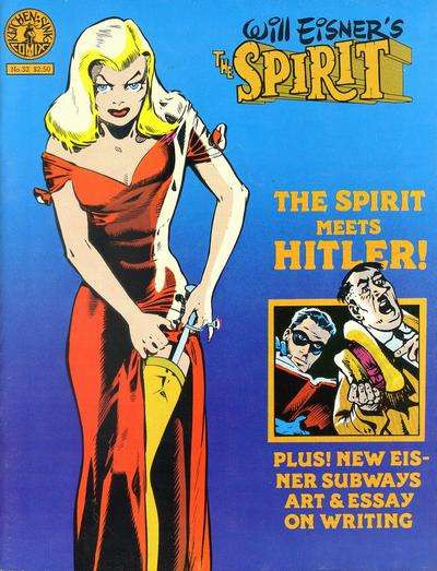 Spirit #32 Comic Books - Covers, Scans, Photos  in Spirit Comic Books - Covers, Scans, Gallery
