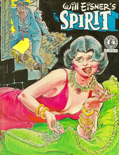 Spirit #33 comic books for sale