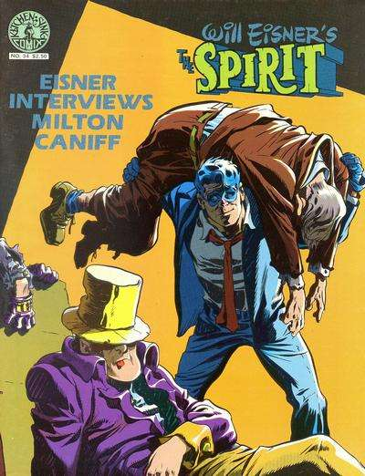 Spirit #34 Comic Books - Covers, Scans, Photos  in Spirit Comic Books - Covers, Scans, Gallery