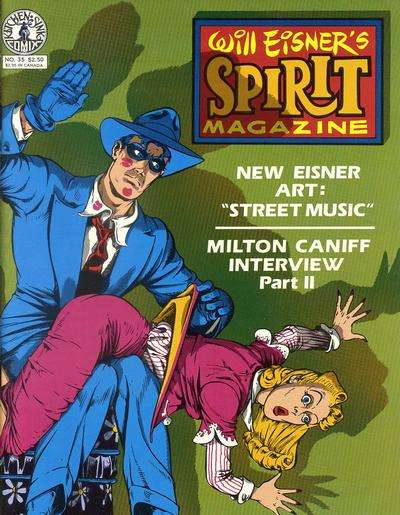 Spirit #35 Comic Books - Covers, Scans, Photos  in Spirit Comic Books - Covers, Scans, Gallery