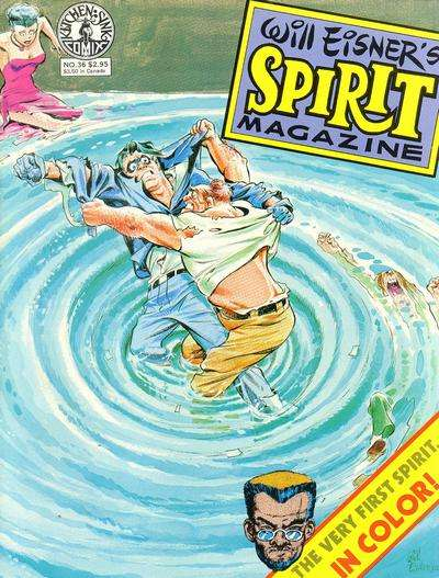 Spirit #36 comic books for sale