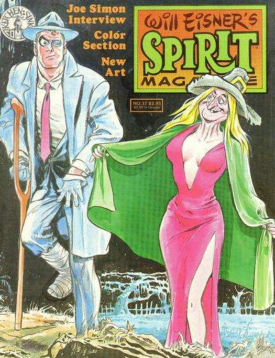 Spirit #37 Comic Books - Covers, Scans, Photos  in Spirit Comic Books - Covers, Scans, Gallery