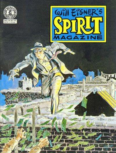 Spirit #38 Comic Books - Covers, Scans, Photos  in Spirit Comic Books - Covers, Scans, Gallery