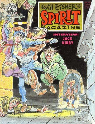 Spirit #39 Comic Books - Covers, Scans, Photos  in Spirit Comic Books - Covers, Scans, Gallery