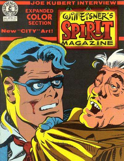 Spirit #40 Comic Books - Covers, Scans, Photos  in Spirit Comic Books - Covers, Scans, Gallery