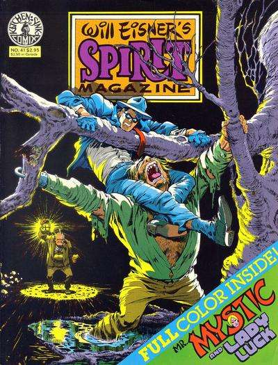 Spirit #41 Comic Books - Covers, Scans, Photos  in Spirit Comic Books - Covers, Scans, Gallery