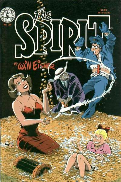 Spirit #24 comic books for sale