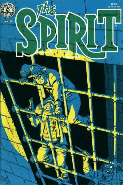 Spirit #25 comic books for sale
