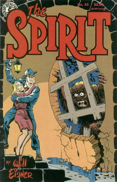 Spirit #33 Comic Books - Covers, Scans, Photos  in Spirit Comic Books - Covers, Scans, Gallery