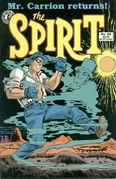 Spirit #69 comic books for sale