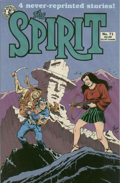 Spirit #71 comic books for sale