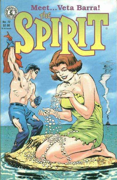 Spirit #72 comic books for sale