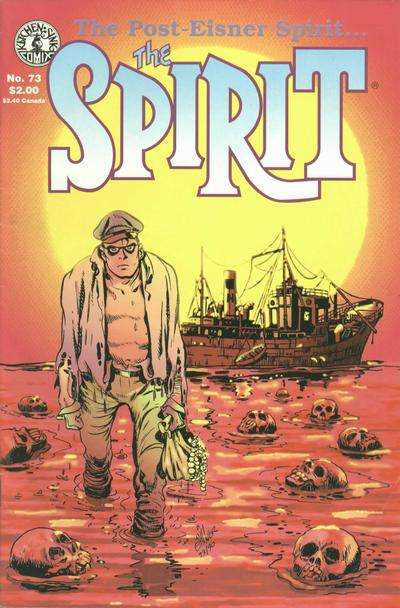 Spirit #73 comic books for sale