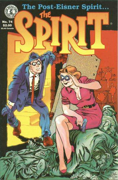 Spirit #74 comic books for sale
