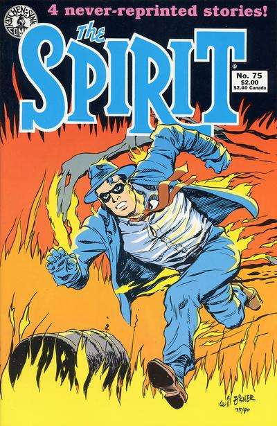 Spirit #75 comic books for sale