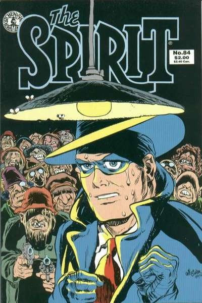 Spirit #84 Comic Books - Covers, Scans, Photos  in Spirit Comic Books - Covers, Scans, Gallery