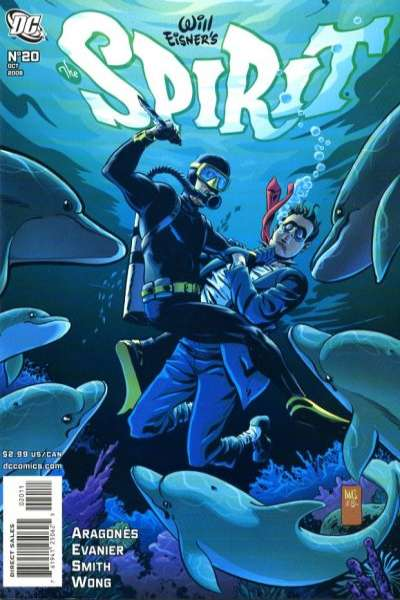 Spirit #20 comic books - cover scans photos Spirit #20 comic books - covers, picture gallery
