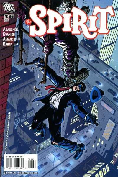 Spirit #25 comic books - cover scans photos Spirit #25 comic books - covers, picture gallery