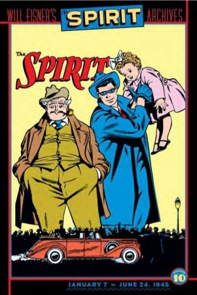 Spirit Archives - Hardcover #10 comic books for sale