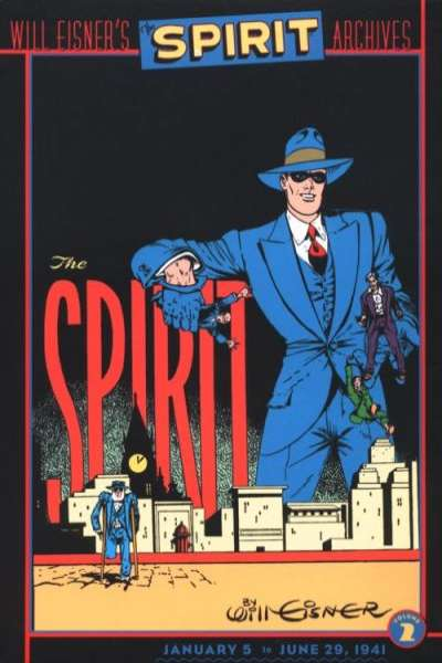 Spirit Archives - Hardcover #2 Comic Books - Covers, Scans, Photos  in Spirit Archives - Hardcover Comic Books - Covers, Scans, Gallery