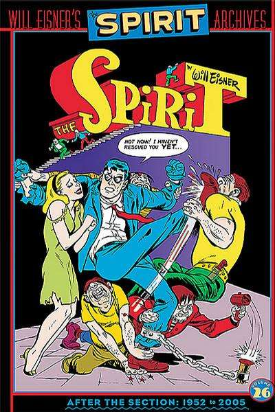 Spirit Archives - Hardcover #26 Comic Books - Covers, Scans, Photos  in Spirit Archives - Hardcover Comic Books - Covers, Scans, Gallery