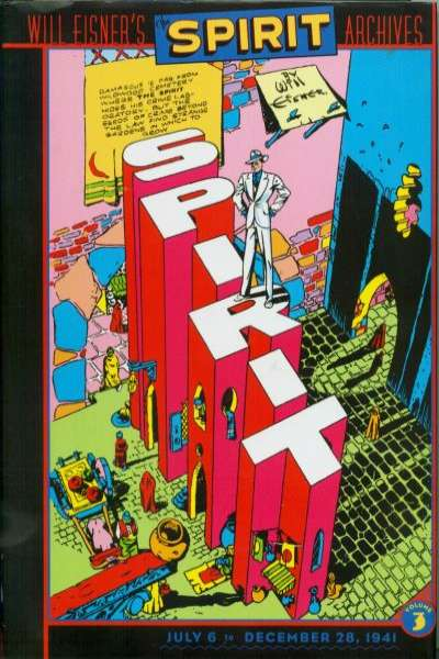 Spirit Archives - Hardcover #3 comic books for sale