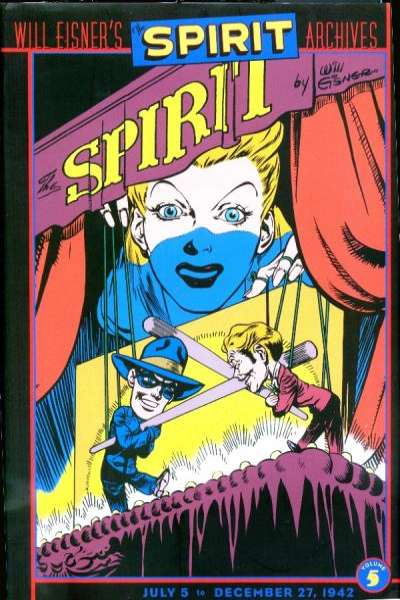 Spirit Archives - Hardcover #5 comic books for sale