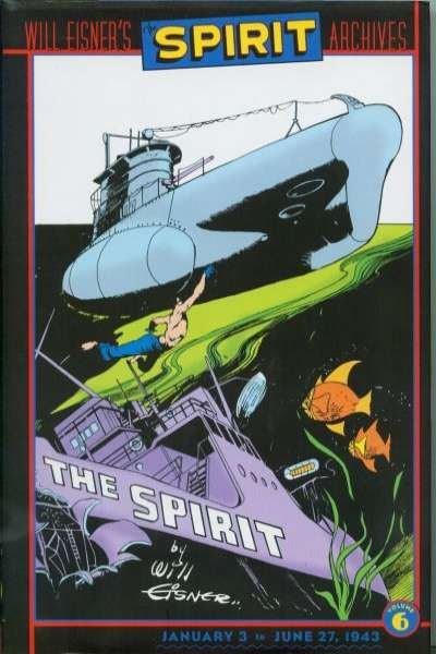 Spirit Archives - Hardcover #6 comic books for sale