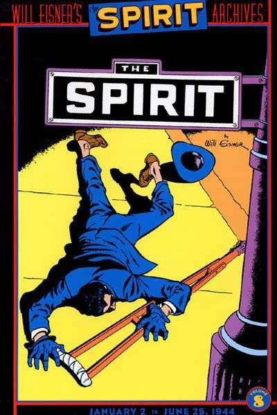 Spirit Archives - Hardcover #8 comic books for sale