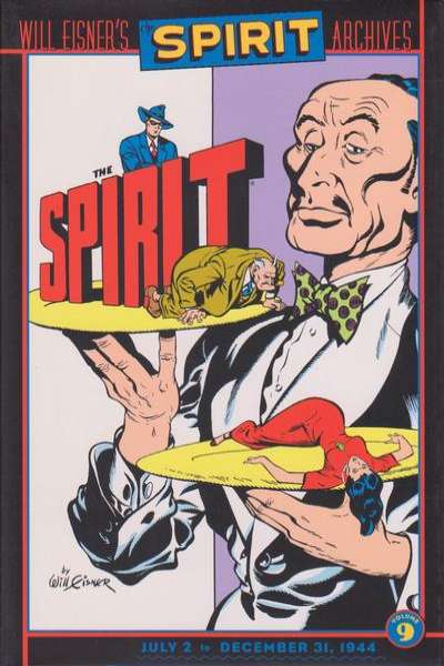 Spirit Archives - Hardcover #9 Comic Books - Covers, Scans, Photos  in Spirit Archives - Hardcover Comic Books - Covers, Scans, Gallery