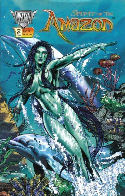 Spirit of the Amazon #2 Comic Books - Covers, Scans, Photos  in Spirit of the Amazon Comic Books - Covers, Scans, Gallery