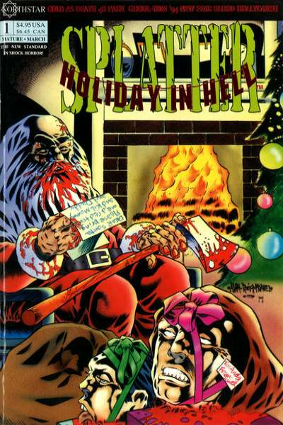 Splatter: Holiday in Hell #1 comic books for sale