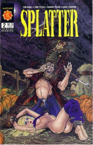 Splatter #2 Comic Books - Covers, Scans, Photos  in Splatter Comic Books - Covers, Scans, Gallery