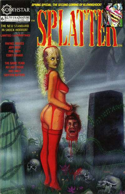 Splatter #6 Comic Books - Covers, Scans, Photos  in Splatter Comic Books - Covers, Scans, Gallery