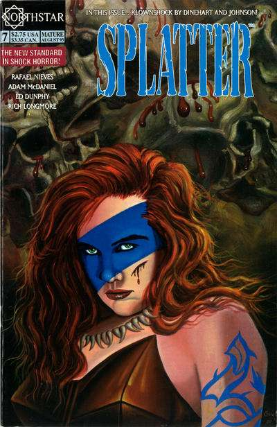 Splatter #7 Comic Books - Covers, Scans, Photos  in Splatter Comic Books - Covers, Scans, Gallery