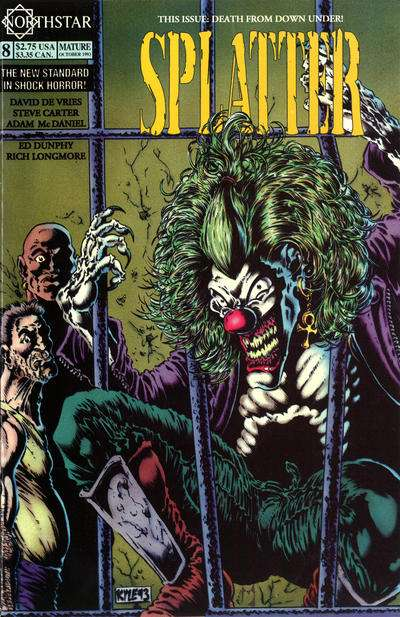 Splatter #8 Comic Books - Covers, Scans, Photos  in Splatter Comic Books - Covers, Scans, Gallery