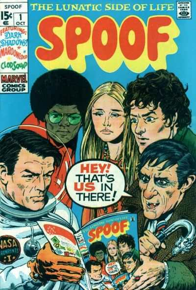 Spoof comic books