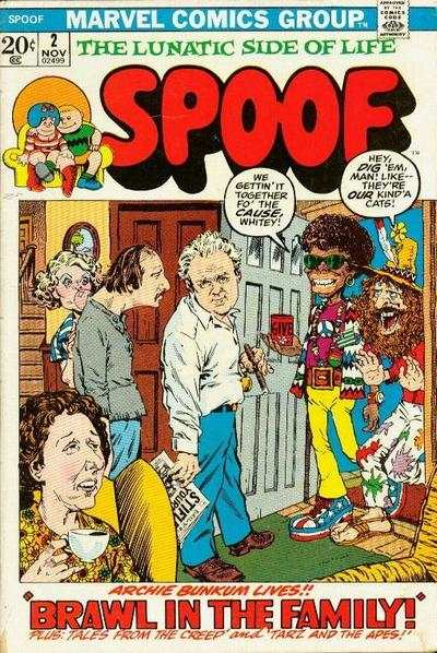 Spoof #2 comic books - cover scans photos Spoof #2 comic books - covers, picture gallery