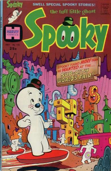 Spooky #145 Comic Books - Covers, Scans, Photos  in Spooky Comic Books - Covers, Scans, Gallery