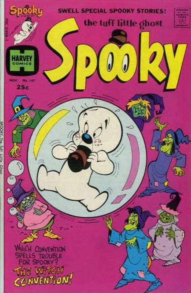 Spooky #147 Comic Books - Covers, Scans, Photos  in Spooky Comic Books - Covers, Scans, Gallery
