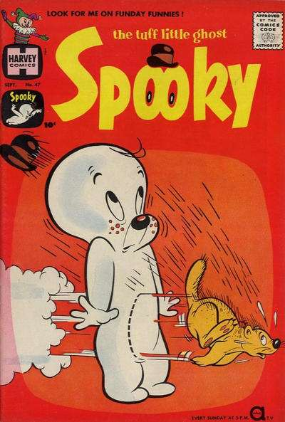 Spooky #47 comic books - cover scans photos Spooky #47 comic books - covers, picture gallery