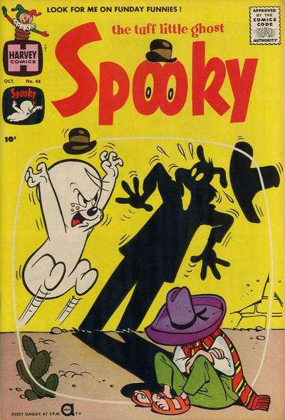 Spooky #48 comic books - cover scans photos Spooky #48 comic books - covers, picture gallery